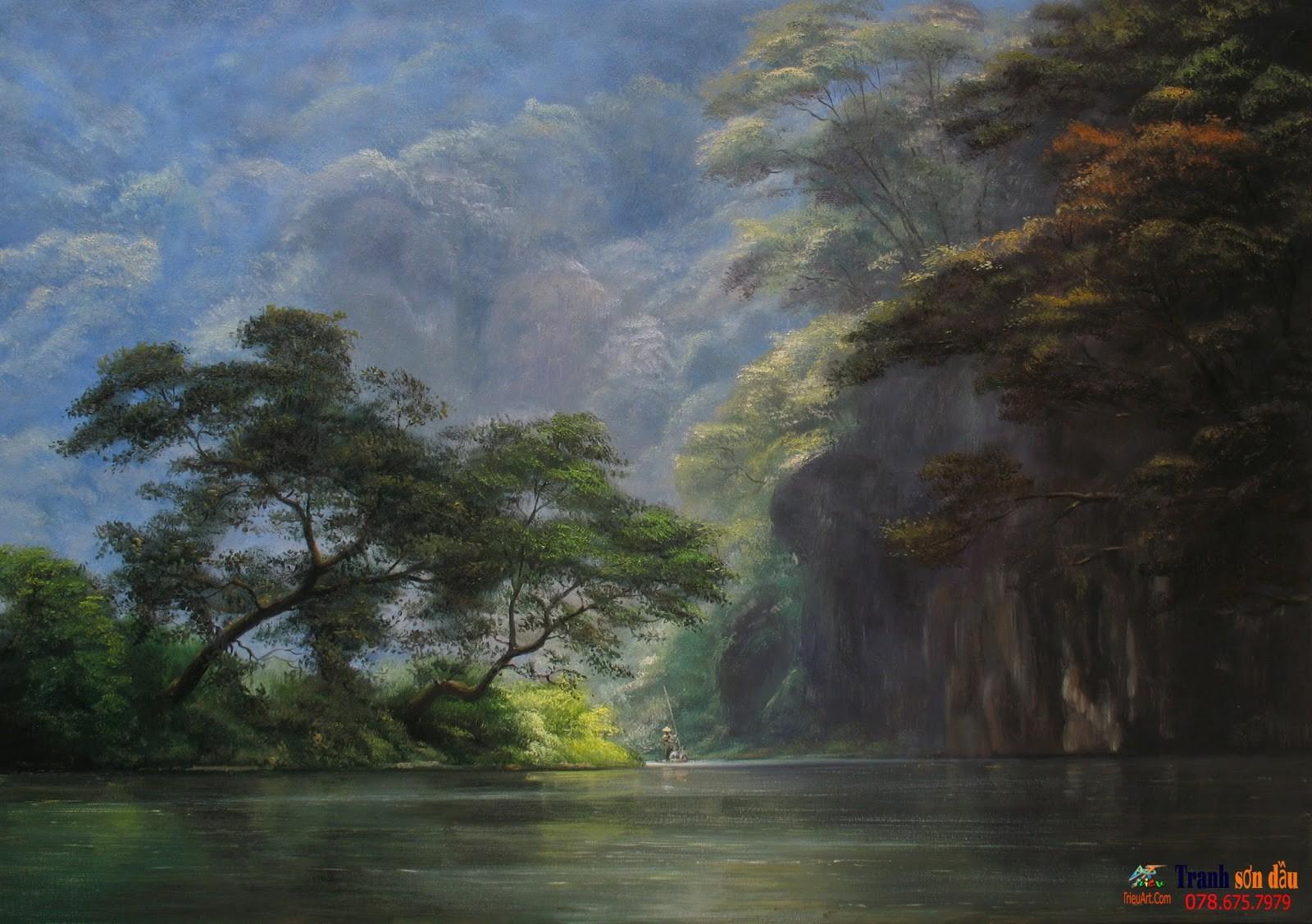 phong cảnh quê hương Việt Nam