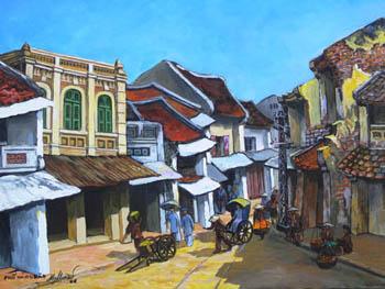 Tranh Nguyễn Đồng Tiến